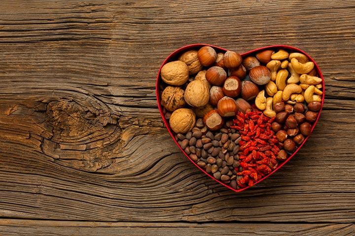 آجیل سلامت قلب
