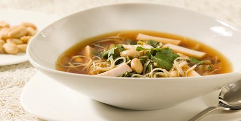 سوپ بادام زمینی