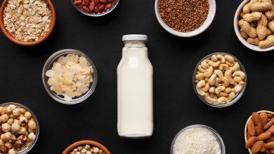 تصویر با خواص شیر گیاهی آشنا شوید (شیرآجیل ها چه فوایدی دارند؟)