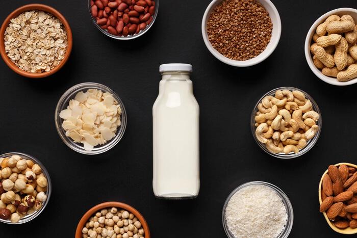 خواص شیر گیاهی