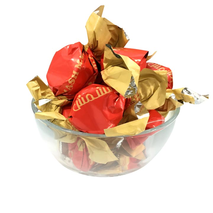 شکلات پشمکی