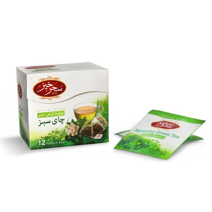 دمنوش چای سبز سحرخیز